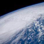 Irene vanuit het ISS