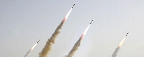 Vier raketten - banner