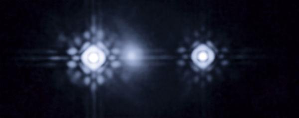 Quasar via gravitatielens