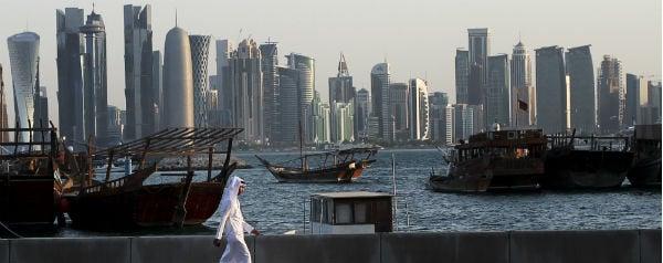 Skyline Doha Qatar