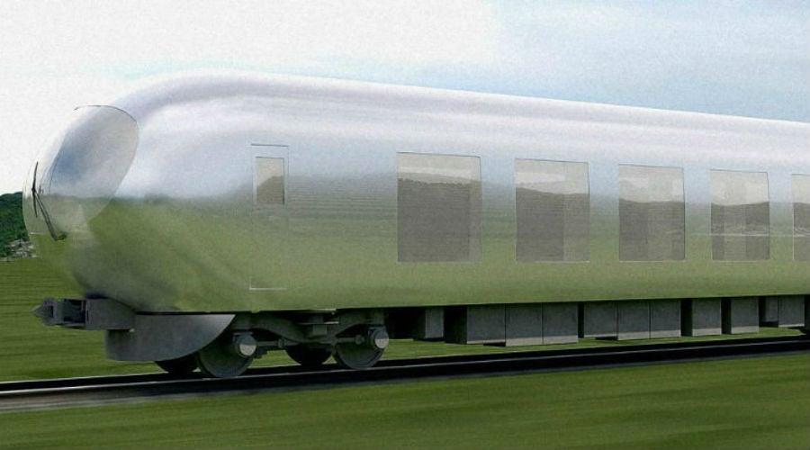 'Onzichtbare' trein