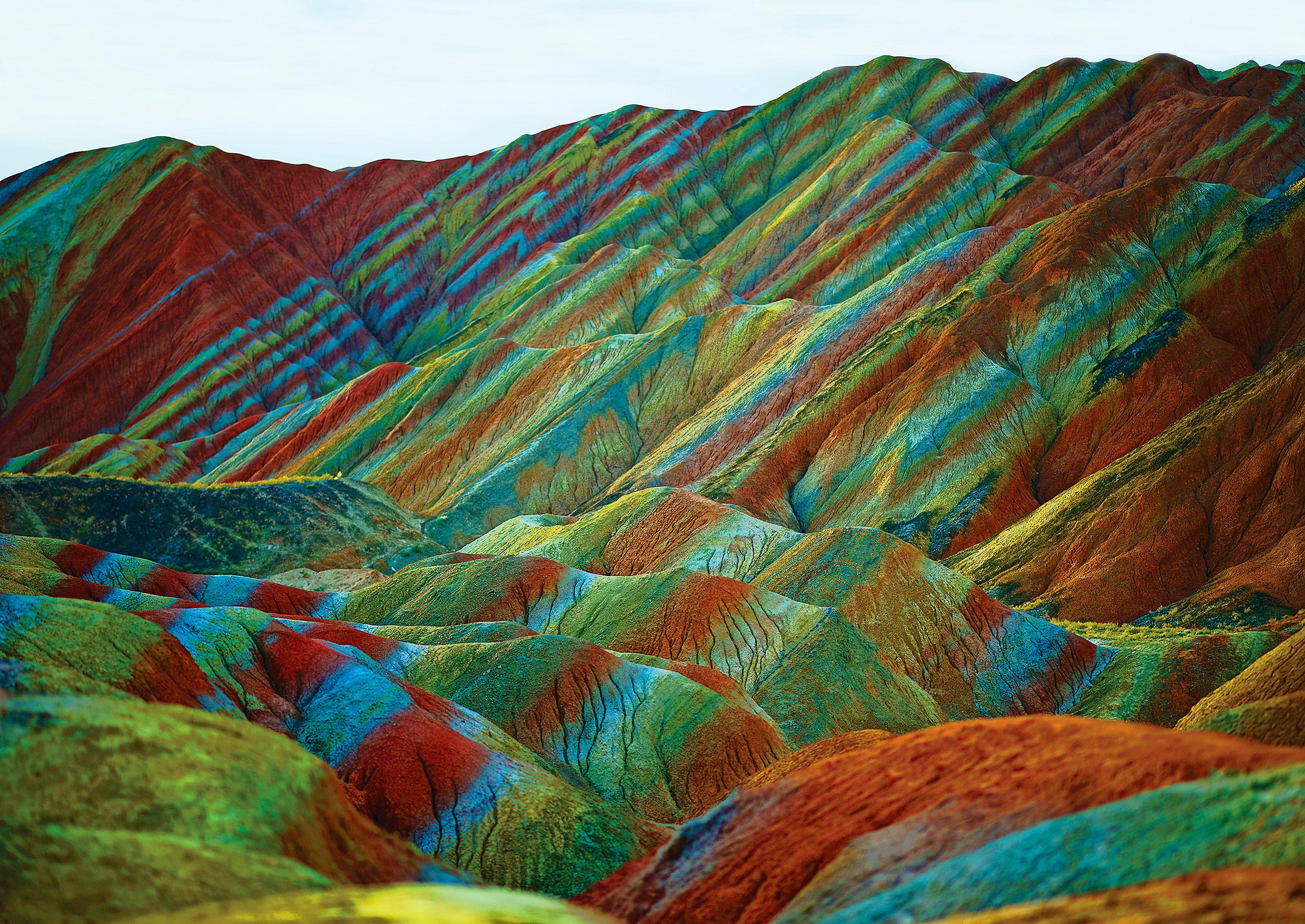 regenboogbergen