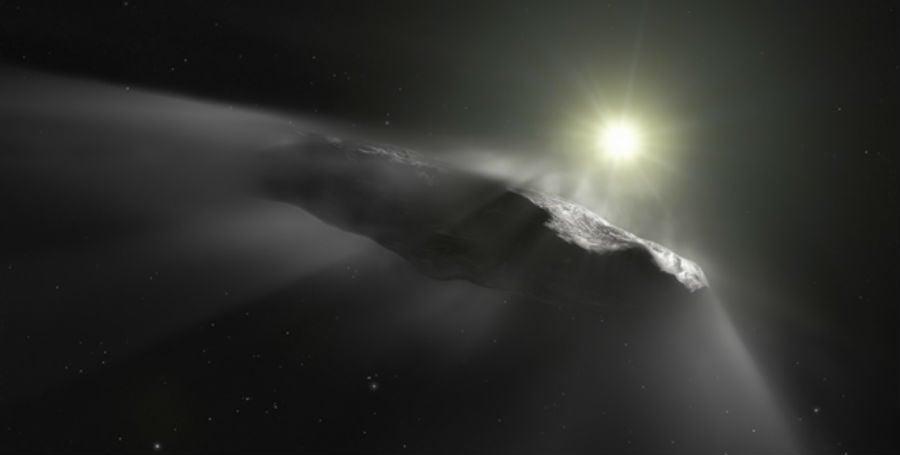 Oumuamua komeet
