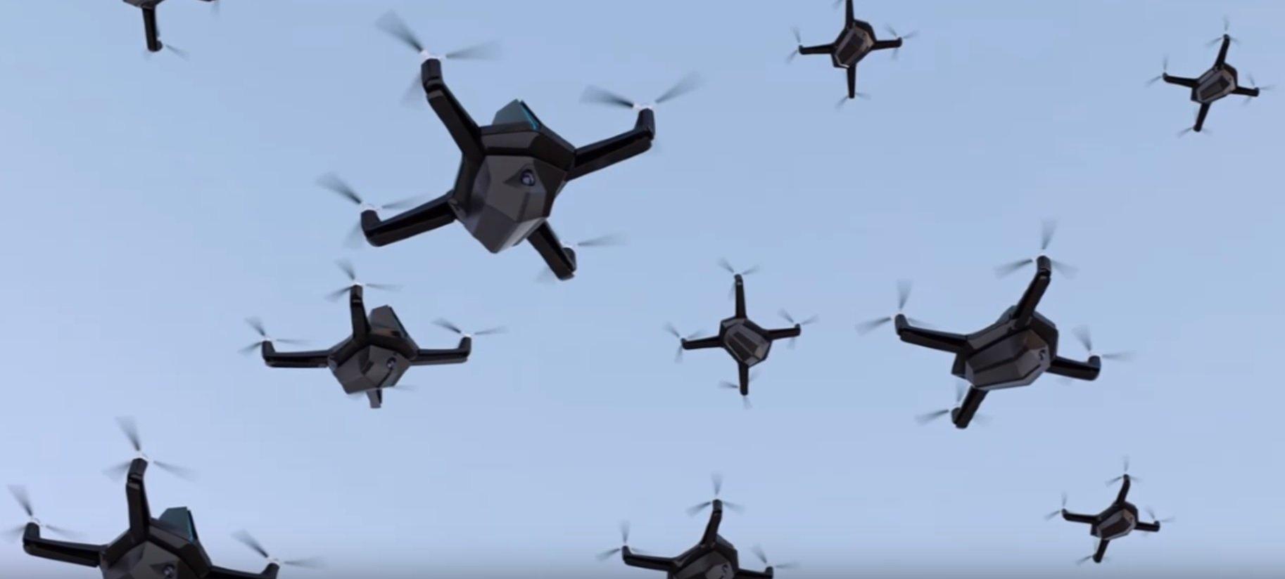 zwermen drones