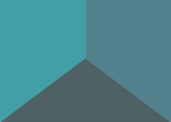 driehoek optische illusie