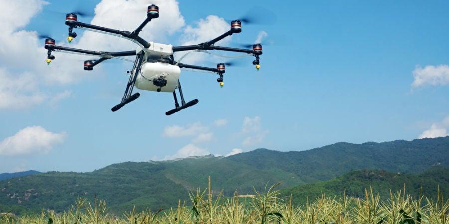 drone landbouw landbouwdrones