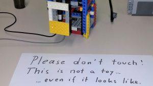 LEGO in het lab